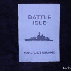 Videojuegos y Consolas: BATTLE ISLE MANUAL USUARIO UBISOFT DRO RETRO ARCADE VIDEOJUEGO AÑOS 90. Lote 203042490