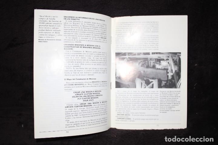 Videojuegos y Consolas: secret weapos of luftwaffe manual videojuego retro arcade vintage años 90 pc ibm tandy - Foto 5 - 203043148