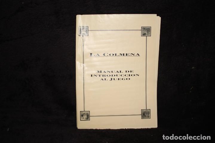 LA COLMENA MANUAL JUEGO VIDEOJUEGO RETRO ARCADE PC VINTAGE AÑOS 90 (Juguetes - Videojuegos y Consolas - Otros descatalogados)