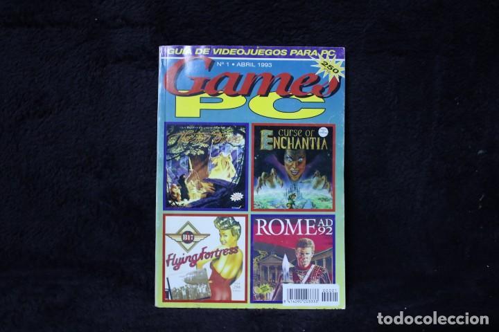 Videojuegos y Consolas: Games pc nº1 revista catalogo videojuegos años 90 retro arcade vintage - Foto 2 - 203043373