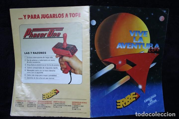 CATALOGO ERBE VIDEOJUEGOS RETRO ARCADE PC VINTAGE AÑOS 90 (Juguetes - Videojuegos y Consolas - Otros descatalogados)