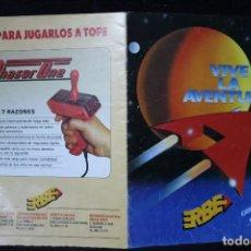 Videojuegos y Consolas: CATALOGO ERBE VIDEOJUEGOS RETRO ARCADE PC VINTAGE AÑOS 90. Lote 203043677