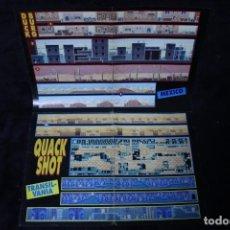 Videojuegos y Consolas: HOBBY CONSOLAS POSTER QUACK SHOT RETRO ARCADE VIDEOJUEGOS AÑOS 90 VINTAGE. Lote 203044803