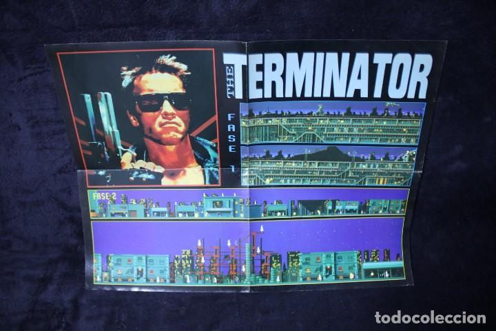 HOBBY CONSOLAS POSTER TERMINATOR RETRO ARCADE VIDEOJUEGOS AÑOS 90 VINTAGE (Juguetes - Videojuegos y Consolas - Otros descatalogados)