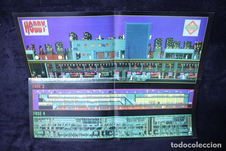 Videojuegos y Consolas: Hobby consolas poster terminator retro arcade videojuegos años 90 vintage - Foto 2 - 203044926