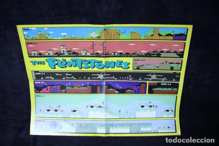 HOBBY CONSOLAS POSTER THE FLINTSTONES RETRO ARCADE VIDEOJUEGOS AÑOS 90 VINTAGE (Juguetes - Videojuegos y Consolas - Otros descatalogados)