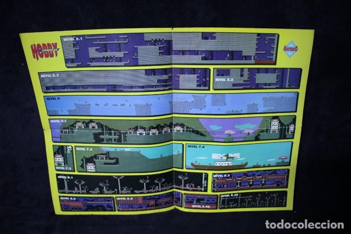 Videojuegos y Consolas: Hobby consolas poster the flintstones retro arcade videojuegos años 90 vintage - Foto 2 - 203045046