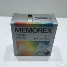 Videojuegos y Consolas: CAJA DE DISKETTES MEMOREX. Lote 203770445