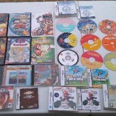 Videojuegos y Consolas: LOTE DE 20 VIDEOJUEGOS PARA PC, FUNDAS DE JUEGOS NINTENDO DS, PSP, XBOX Y MANUALES. Lote 204413043