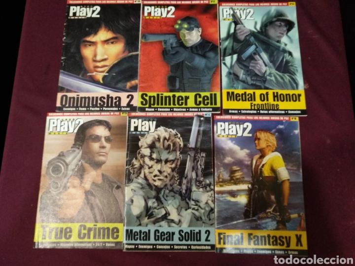 PLAY 2 MANÍA, LOTE 6 MANUALES SOLUCIONES, (Juguetes - Videojuegos y Consolas - Otros descatalogados)