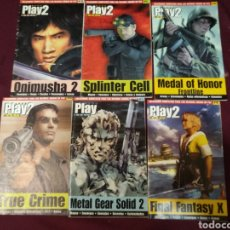 Videojuegos y Consolas: PLAY 2 MANÍA, LOTE 6 MANUALES SOLUCIONES,. Lote 204654997
