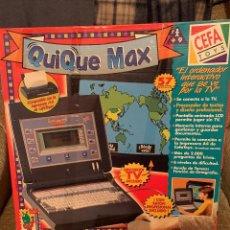 Videojuegos y Consolas: ORDENADOR QUIQUE MAX. Lote 205237338