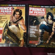 Videojuegos y Consolas: HOBBY CONSOLAS, 2 GUÍAS COMPLETAS PRINCE OF PERSIA, EL ALMA DEL GUERRERO Y LAS ARENAS DEL TIEMPO. Lote 205434071