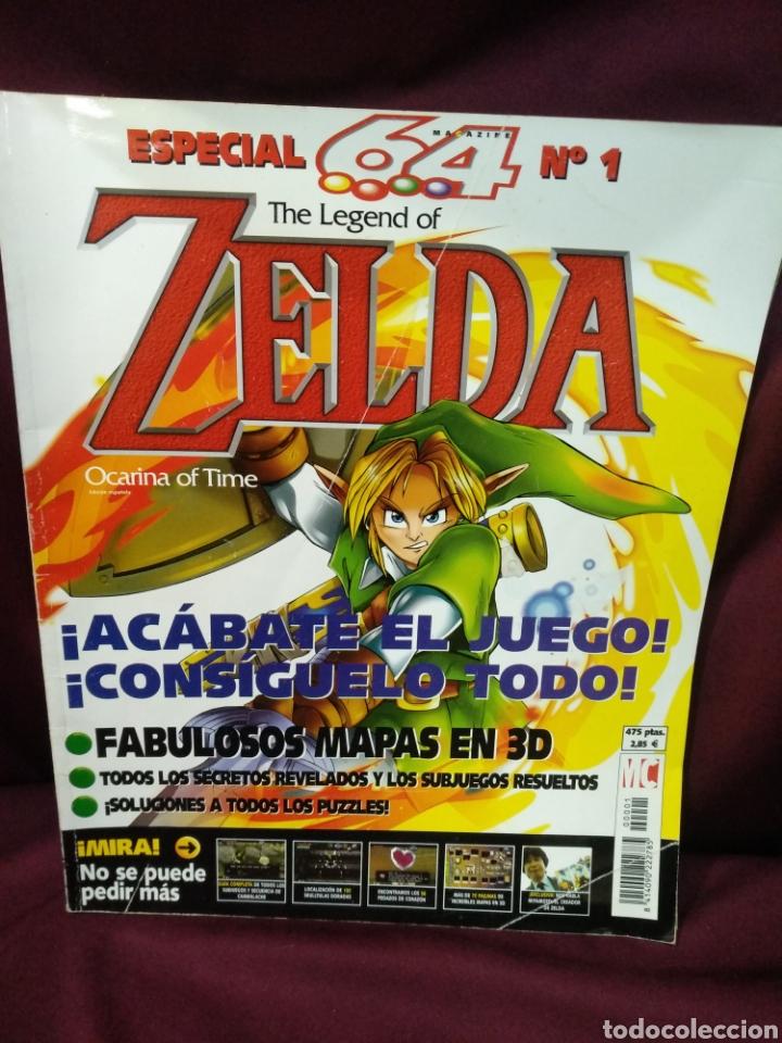 ESPECIAL 64 N°1 THE LEGENDS OF ZELDA, OCARINA OF TIME (Juguetes - Videojuegos y Consolas - Otros descatalogados)