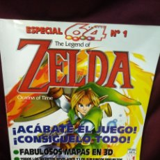 Jeux Vidéo et Consoles: ESPECIAL 64 N°1 THE LEGENDS OF ZELDA, OCARINA OF TIME. Lote 205438403