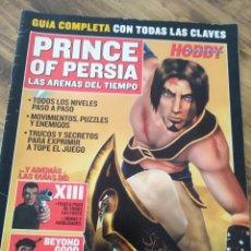 Videojuegos y Consolas: REVISTA HOBBY JUEGOS CONSOLA PRINCE OF PERSA MICRO. Lote 205565592