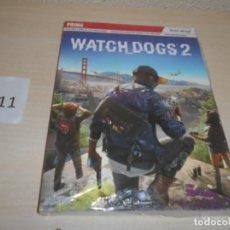Videojuegos y Consolas: GUIA WATCH DOGS 2 , PRECINTADA , CASTELLANO. Lote 205689787