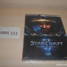 Videojuegos y Consolas: GUIA STARCRAFT II , PRECINTADA , CASTELLANO. Lote 205689825