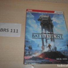 Videojuegos y Consolas: GUIA STAR WARS BATTLEFRONT , PRECINTADA , CASTELLANO. Lote 205689870