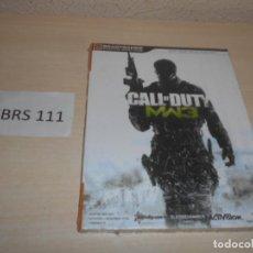 Videojuegos y Consolas: GUIA CALL OF DUTY MODERFARWARE 3 , CASTELLANO , PRECINTADA. Lote 205689925