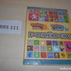 Videojuegos y Consolas: GUIA POKEMON POKEDEX EDICION SOL/LUNA , PRECINTADA , CASTELLANO. Lote 205689965