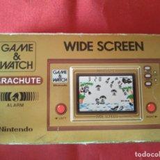 Videojuegos y Consolas: GAME & WATCH, NINTENDO - PARACHUTE - EN SU CAJA - AÑO 1981. Lote 205816863