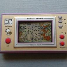 Videojuegos y Consolas: NINTENDO GAME&WATCH WIDESCREEN SNOOPY TENNIS SP-30 MINT/NEAR MINT FILTRO NUEVO R11050. Lote 206232590