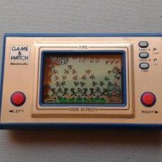 Videojuegos y Consolas: NINTENDO GAME&WATCH WIDESCREEN FIRE FR-27 MINT/NEAR MINT FILTRO NUEVO VER!! R11048. Lote 206232825