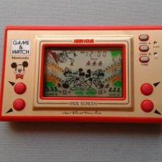 Videojuegos y Consolas: NINTENDO GAME&WATCH WIDESCREEN MICKEY MOUSE MC-25 MINT/NEAR MINT FILTRO NUEVO R11049. Lote 206233007