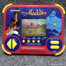 Videojuegos y Consolas: TIGER DISNEY ALADDIN CONSOLA LCD. Lote 206293205
