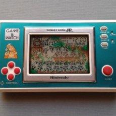 Videojuegos y Consolas: NINTENDO GAME&WATCH WIDESCREEN DONKEY KONG JR. DJ-101 EXTRA FINE CONDITION SEE!! R11051. Lote 206321307