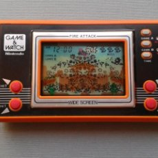 Videojuegos y Consolas: NINTENDO GAME&WATCH WIDESCREEN FIRE ATTACK ID-29 MINT/NEAR MINT CONDITION SEE!! R11052. Lote 206322963