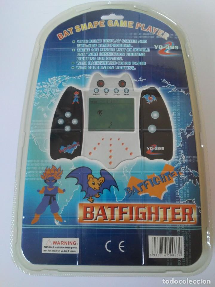 Videojuegos y Consolas: Bat Shape Game Player Maquinita con forma de murciélago no Batman En blister sin abrir - Foto 12 - 206324893