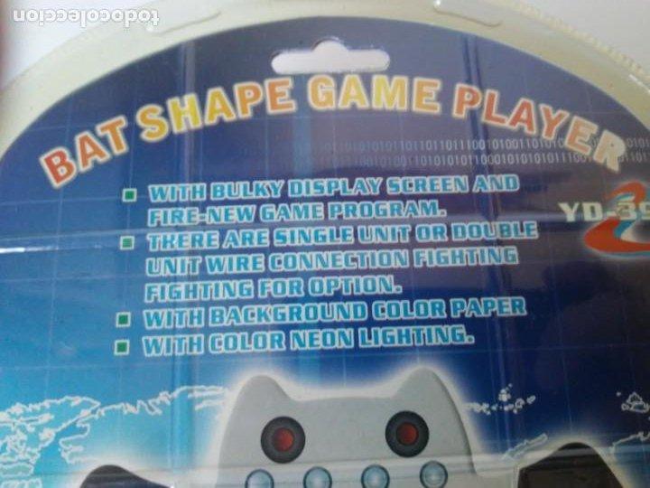 Videojuegos y Consolas: Bat Shape Game Player Maquinita con forma de murciélago no Batman En blister sin abrir - Foto 14 - 206324893