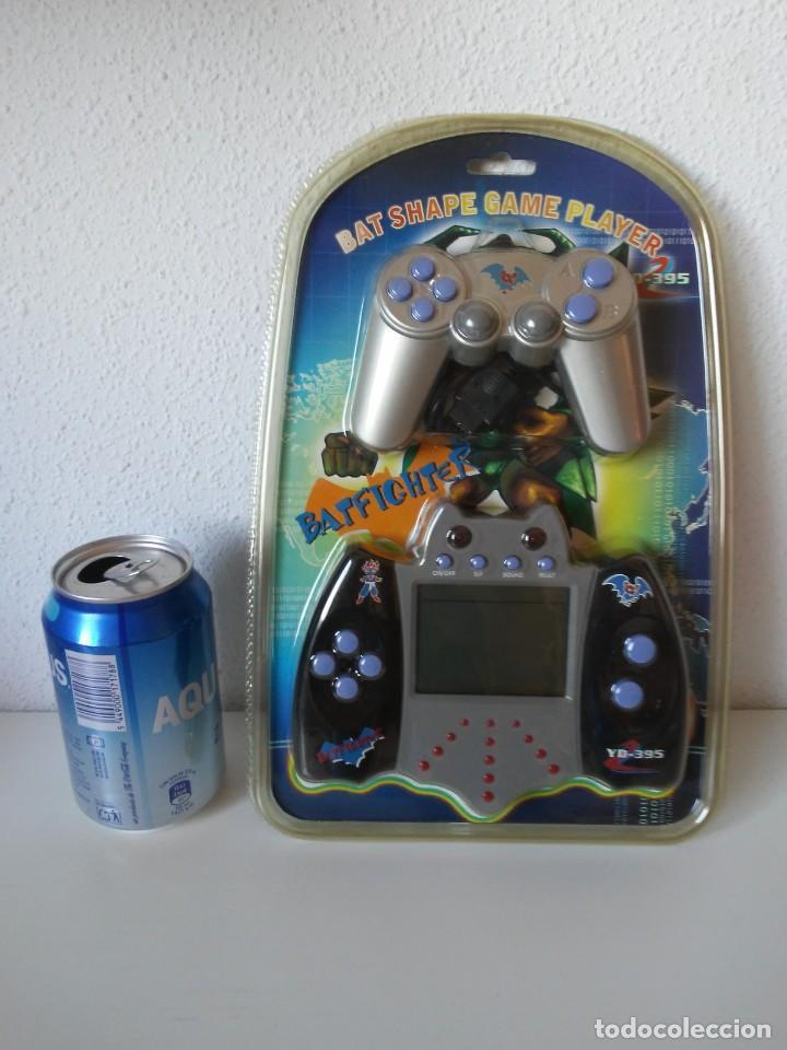 Videojuegos y Consolas: Bat Shape Game Player Maquinita con forma de murciélago no Batman En blister sin abrir - Foto 17 - 206324893