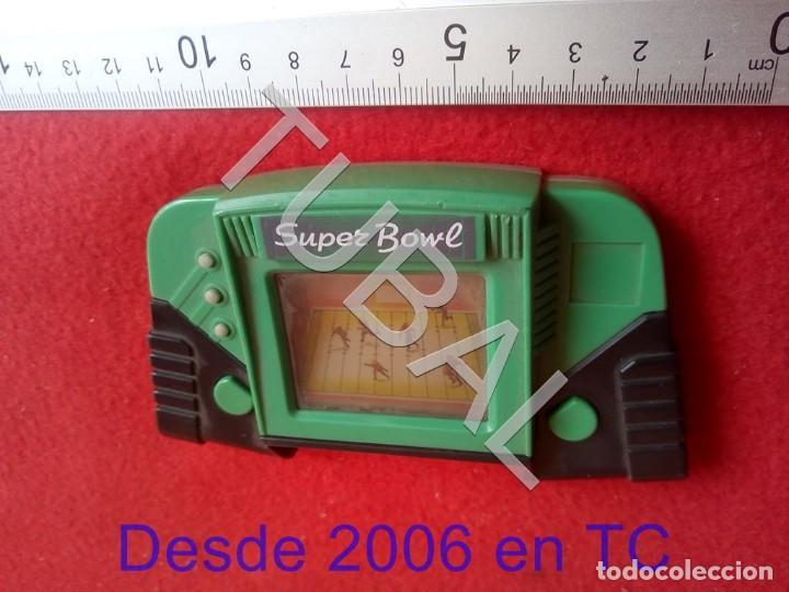TUBAL SUPER BOWL CONSOLA LCD FUNCIONANDO NO INCLUYE PILAS CJ4 (Juguetes - Videojuegos y Consolas - Otros descatalogados)