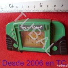 Videojuegos y Consolas: TUBAL SUPER BOWL CONSOLA LCD FUNCIONANDO NO INCLUYE PILAS CJ4. Lote 206369785
