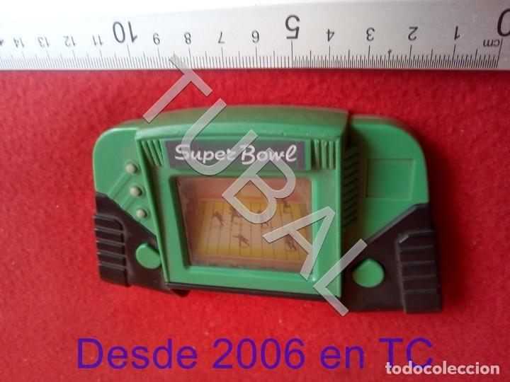 Videojuegos y Consolas: TUBAL SUPER BOWL CONSOLA LCD FUNCIONANDO NO INCLUYE PILAS CJ4 - Foto 2 - 206369785