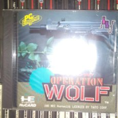 Videojuegos y Consolas: OPERATION WOLF PC ENGINE. Lote 206857981