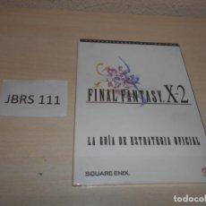 Videojuegos y Consolas: GUIA FINAL FANTASY X-2 , CASTELLANO , PRECINTADA. Lote 206911748