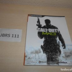 Videojuegos y Consolas: GUIA CALL OF DUTY MODERFARWARE 3 , CASTELLANO. Lote 206913110