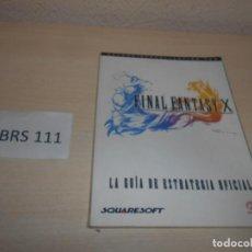 Videojuegos y Consolas: GUIA FINAL FANTASY X , CASTELLANO. Lote 206913151