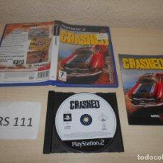 Videojuegos y Consolas: PS2 - CRASHED , PAL ESPAÑOL , COMPLETO. Lote 206915185