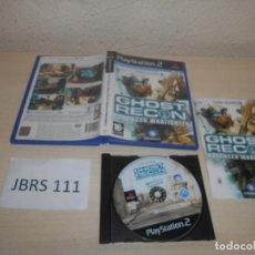 Videojuegos y Consolas: PS2 - GHOST RECON ADVANCED WAFIGTHER , PAL ESPAÑOL , COMPLETO. Lote 206915303