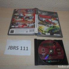 Videojuegos y Consolas: PS2 - BURNOUT 2 POINT OF IMPACT , PAL ESPAÑOL , SIN INSTRUCIONES. Lote 206915372