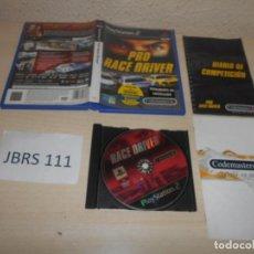 Videojuegos y Consolas: PS2 - PRO RACE DRIVER , PAL ESPAÑOL , COMPLETO. Lote 206915503