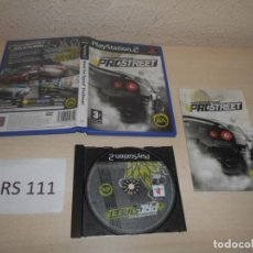 Videojuegos y Consolas: PS2 - NEED FOR SPEED PROSTRET , PAL ESPAÑOL , COMPLETO. Lote 206915568