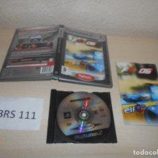 Videojuegos y Consolas: PS2 - FORMULA ONE 06 , PAL ESPAÑOL , COMPLETO. Lote 206915648