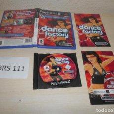 Videojuegos y Consolas: PS2 - DANCE FACTORY , PAL ESPAÑOL , COMPLETO. Lote 206916181