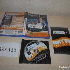 Videojuegos y Consolas: PS2 - SINGSTAR OPERACION TRIUNFO , PAL ESPAÑOL , COMPLETO. Lote 206916348